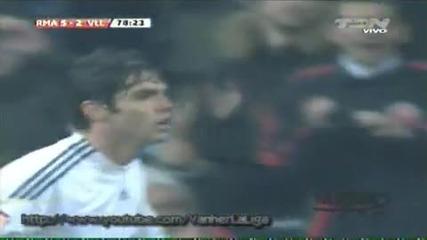 Real Madrid vs Villarreal 6 - 2 [21/02/10] Всички голове