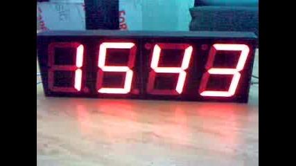 Часовник с Голями Индикатори 100мм