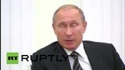 Russia: Putin praises 'developing' relations at meeting with Turkey's Erdogan