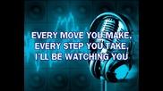 Police - Every Breath You Take (karaoke)