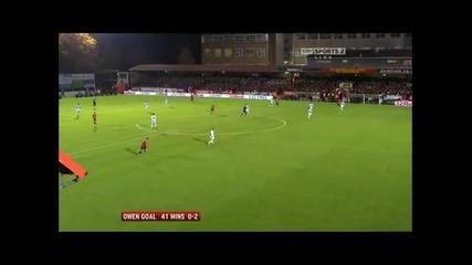 Манчестър Юнайтед 3 - 0 Оуен Бербатов Гол *hq*