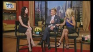 Megan Fox On Live With Regis And Kelly (високо качество)