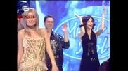 Ексклузивно!!преслава пее с финалистите - страхотен купон - music idol 2 - 31.03.08 Hq