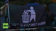 Germany: Anti-fascist demo blocks PEGIDA offshoot march