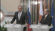 """Cyprus: """"Someone wanted to sabotage the Syrian political process"""" - Lavrov"""