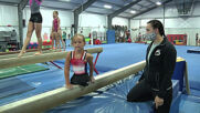 8 y/o gymnast born without legs scores a perfect 10 in overcoming obstacles