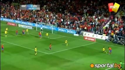 09.10.2010 Испания - Литва 3 - 1
