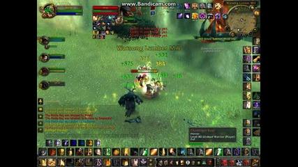 Hacker in Warsong Gulch ( Dragonfire-bg)