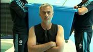 Jose Mourinhos Ice Bucket Challenge