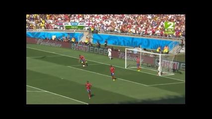 Коста Рика - Англия 0:0