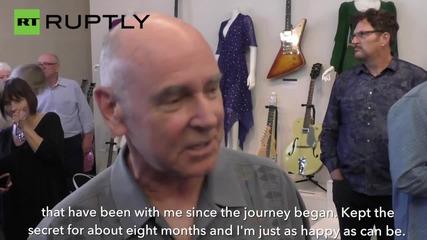 Изгубената китара на Джон Ленън се продаде за рекордните 2,4 млн. долара