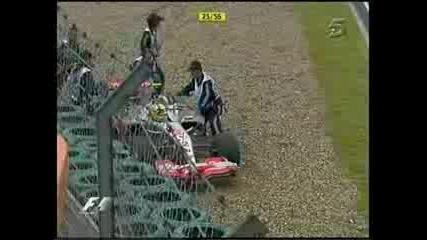 Ето какво става Когато Ром не си смени Гумите на каруцата!