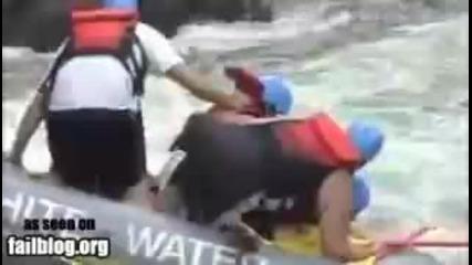 Rafting Fail