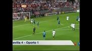 """""""Севиля"""" не остави шансове на """"Порто"""" и след 4:1 е на полуфинал в """"Лига Европа"""""""