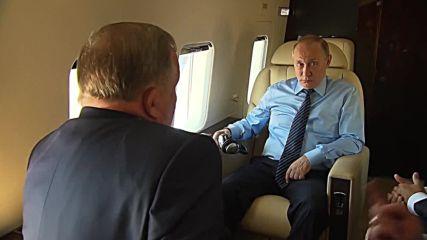 Russia: Putin tours Belokurikha resort ahead of tourism talks