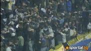 05.11.2009 Мощна подкрепа на Сините фенове