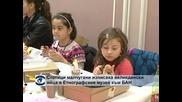 Стотици малчугани изписваха великденски яйца в Етнографския институт към БАН