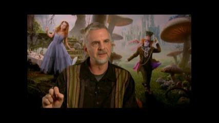 Алиса в Страната на чудесата: интервю със супервизор визуални ефекти - Кен Ралсън