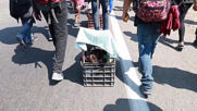 Mexico: Thousands depart Tapachula for Huehuetan in migrant caravan