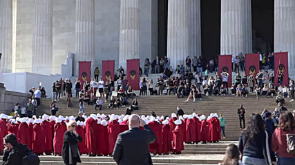 USA: 'The Handmaid's Tale' begins shooting in Capitol