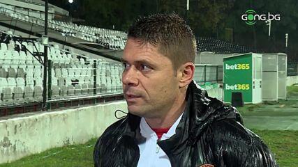 Димитров: Не видях голяма разлика днес