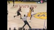 Kobe Halfcourt Shot After the Whistle