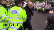 UK: Arrests, scuffles break out at anti-Sisi Downing Street protest