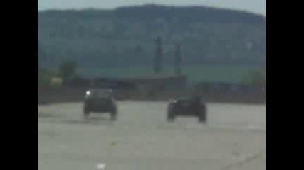 Пловдивско Bmw e30 vs. Dodge Viper
