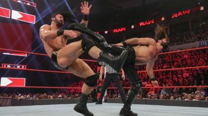 Seth Rollins vs. Drew McIntyre: Raw, Jan. 21, 2019