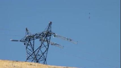 Построяване на електроводна линия 500 Kv
