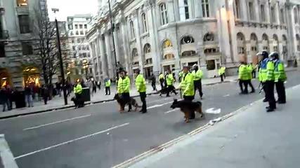 Как се оправят в Лондон с размирниците