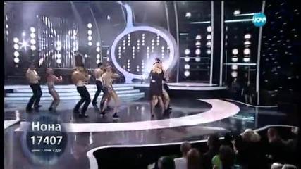 Нона Йотова като Fergie - Като две капки вода - 23.03.2015 г.