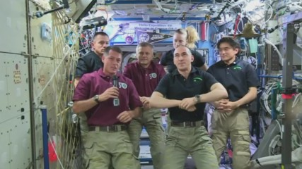 ISS: Cosmonaut Anatoli Ivanishin hands over command of space station to Expedition 50 crew