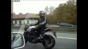 Най - лудия моторист на всички времена !!!