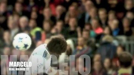Marcelo - Suavemente - Real Madrid 2012