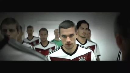 Страхотно видео за националния отбор на Германия - World Cup 2014