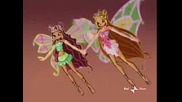 Winx - Flora, Musa And Layla