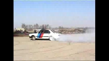 Bmw 1 Част Къса Гумите Drift Челопеч