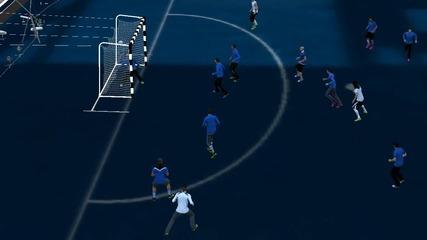 Рабона почти от корнера !!! Fifa 13 ( Street mod )