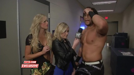 W W E.com - Big E Langston And Fandango And Jimmy Uso Talk About Their Royal Rumble 2014 D