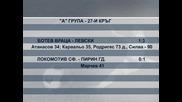"""""""Ботев"""" (Вр) - """"Левски"""" 1-3, """"Локо"""" глътна вода в София"""