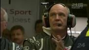 Катастрофата на Allan Mcnish в Le Mans 24 Hours 2011