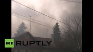 Russia: Blaze at Oryol pyrotechnics store engulfs nearby buildings