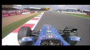 F1 Гран при на Великобритания 2012 - тийм радиото на Webber след състезането 2 [hd][onboard]