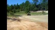 Yamaha Raptor 350 Минава През Дълбока Локва