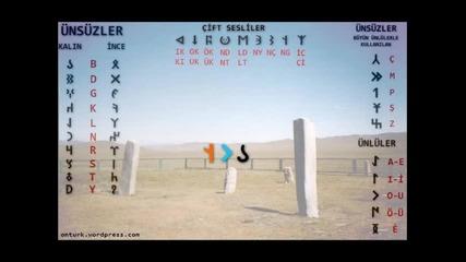 Kadim (eski) Turk Abecesi (alfabesi) - 9. Bolum