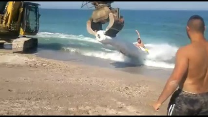 Страхотно забавление на плажа