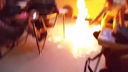 Страхотен експеримент в час по химия