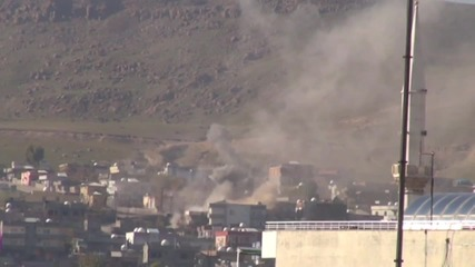 Turkey: Smoke rises in Cizre as security forces continue imposing curfew