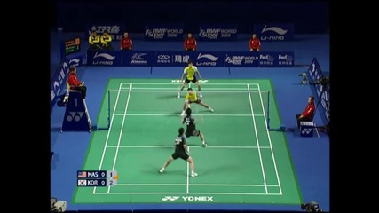 badminton - doubles deception and trickshots
